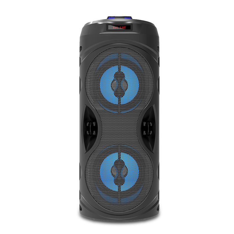 2021 custom bluetooth speaker led android karaoke player subwoofer MW-530