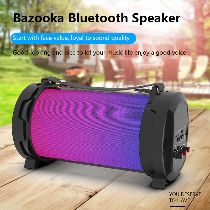 Portable Bluetooth Outdoor Party Speaker With LED Light Custom LOGO MW-139B
