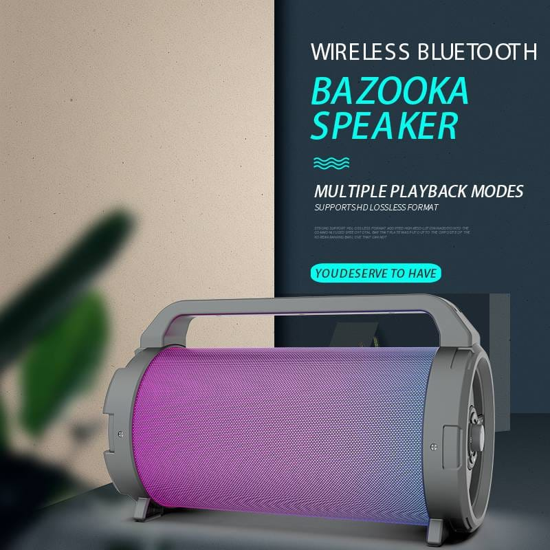 15W Bluetooth Speaker Factory Outdoor Portable RGB Light Speaker MW-195B