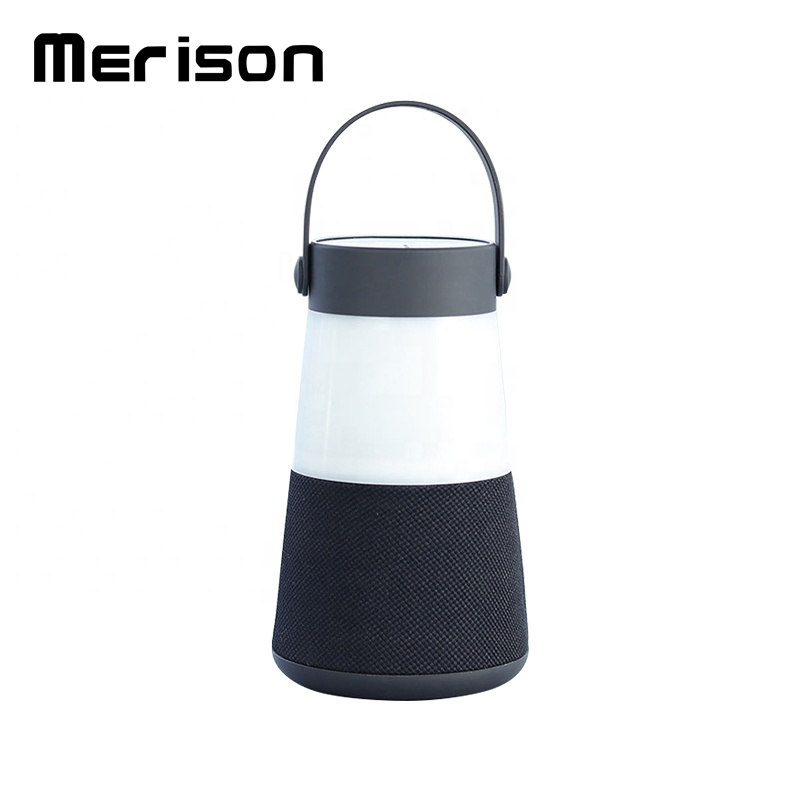 Custom IPX4 waterproof Led Night light speaker bluetooth led lamp speakr MY-M23