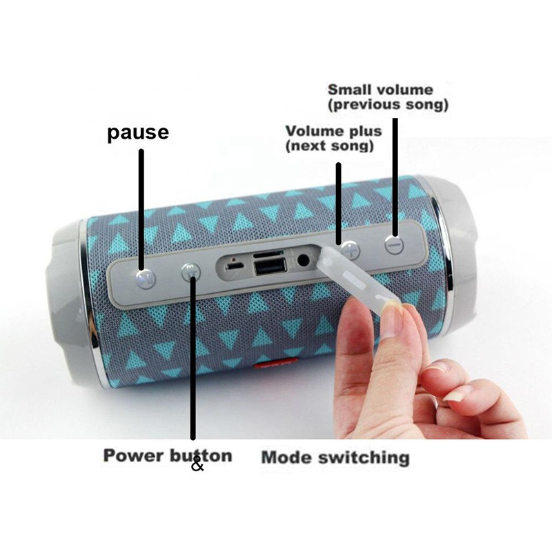 Custom IPX5 portable mini waterproof bluetooth surround sound speaker MY-M32