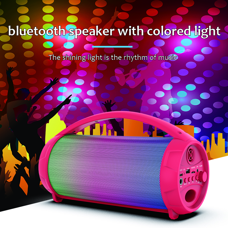 Portable Bluetooth Speaker Factory nilght light with speaker in plastic MW-193B
